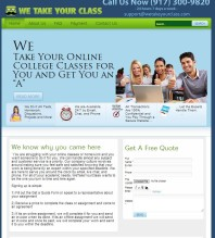 WeTakeYourClass.com